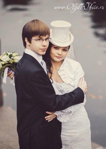 Свадебный женский цилиндр купить