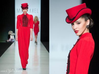 Шляпки OlgaWhite на неделе моды в Москве