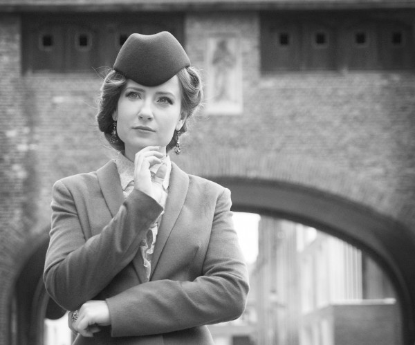 Шляпка пилотка фетровая купить Фото шляпки в ретро стиле