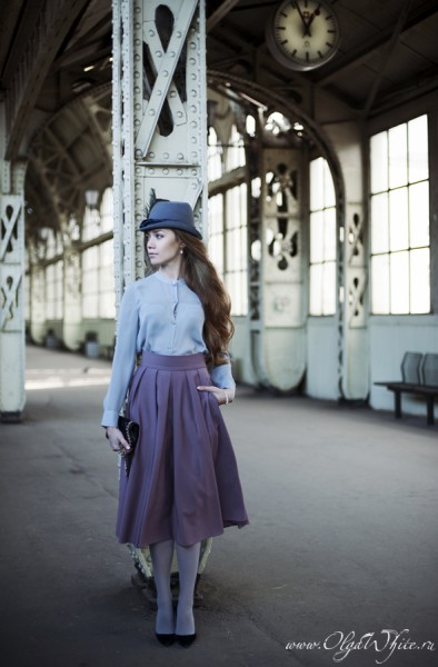 Шляпка Анны Карениной как у Киры Найтли (на заказ)