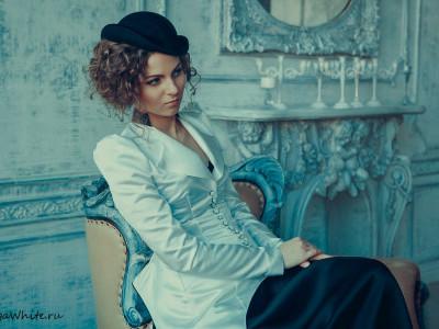 Шляпка котелок Ирэн Адлер в к/ф Шерлок Холмс Игра Теней - свадебная шляпка невесты