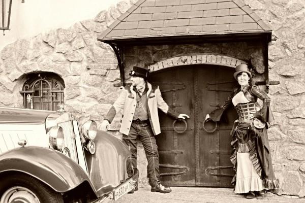 Стимпанк цилиндр купить Свадьба в стиле стимпанк фото