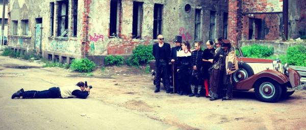 Стимпанк цилиндр купить Свадьба в стиле стимпанк - гости