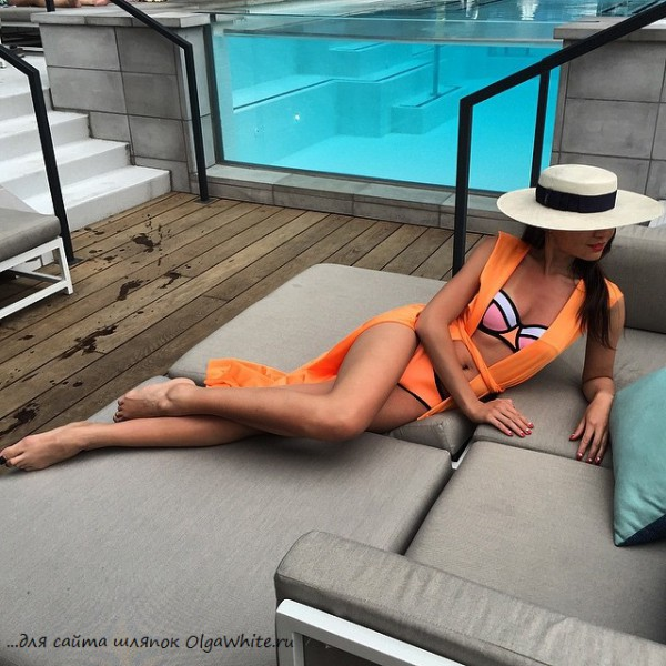 Фото широкополых шляп из инстаграм