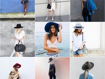 Красивая жизнь в шляпках. Фото девушек в широкополых фетровых шляпах из инстаграм.