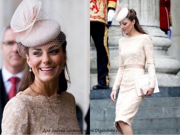 Шляпки элегантной девушки Кейт Мидлтон, которую принц выбрал не просто так