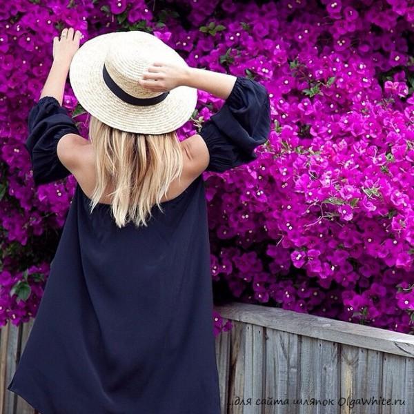 Широкополые шляпы на девушках фото Красивая жизнь в шляпках