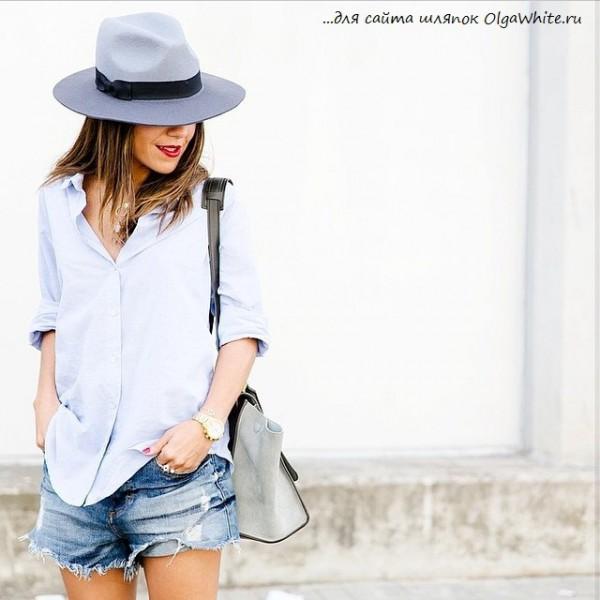 Широкополые шляпы на девушках фото стритстайл