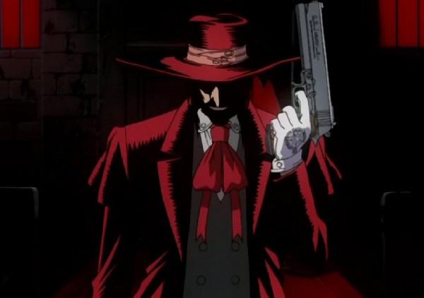 Красная широкополая шляпа заказать купить косплей Алукард Хелсинг