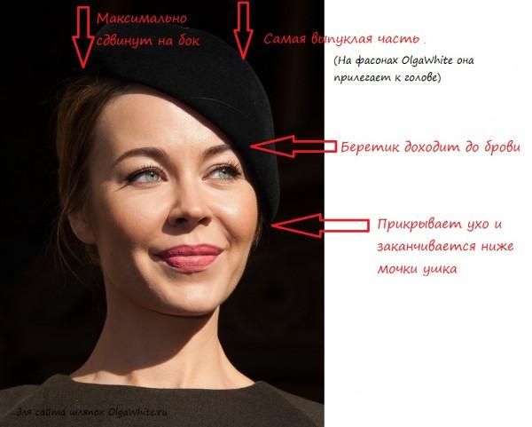 Шляпки береты Ульяны Сергеенко Как носить шляпу берет