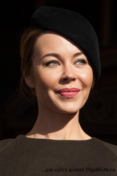 Шляпки береты Ульяны Сергеенко С чем носить шляпки береты