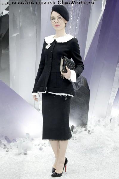 Шляпки береты Ульяны Сергеенко В стиле Шанель С чем носить шляпки