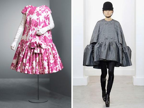 Balenciaga Dress Baby Doll: оригинал и образ из коллекции fw 2006-2007