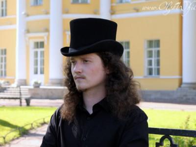 Мужской цилиндр шляпа. Пушкинский цилиндр