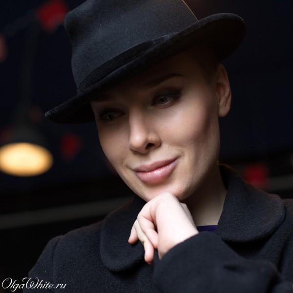 Черная женская шляпа Федора в стиле 20-х (двадцатых). Купить в интернет-магазине шляп
