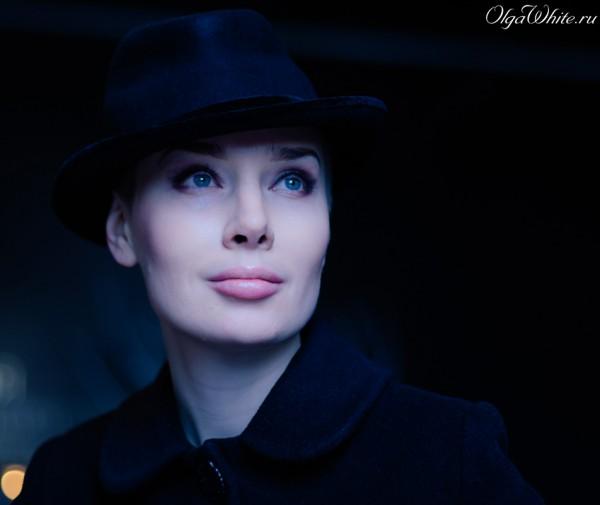 Черная женская шляпа Федора в стиле Чикаго. Купить в Санкт-Петербурге