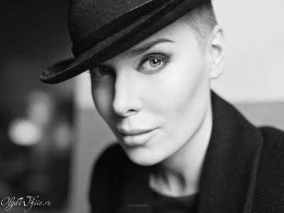 Женская фетровая шляпа в стиле Чикаго