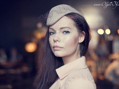 Шляпка-пилотка: фетровая модная шляпка с вуалью. Купить в интернет-магазине Спб.