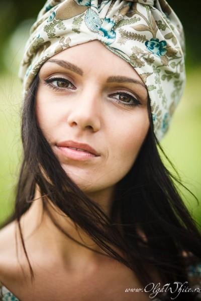 Тюрбан-женский головной убор. На фото-летний тюрбан. Купить в интернет-магазине