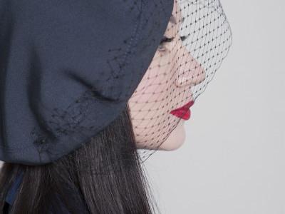 Берет с вуалью Dior Купить шляпу берет с вуалью