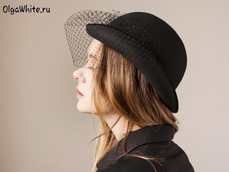 Купить Шляпу Котелок Женскую