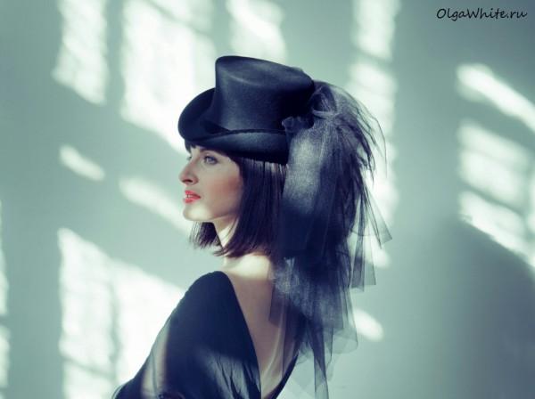 Черный цилиндр шляпа с фатой купить в интернет-магазине. Шляпа цилиндр на один бок небольшой