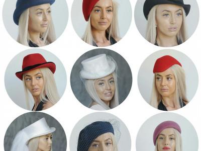 Фетровые шляпки: с чем носить? Примеры образов - 9 шляпок на одной девушке