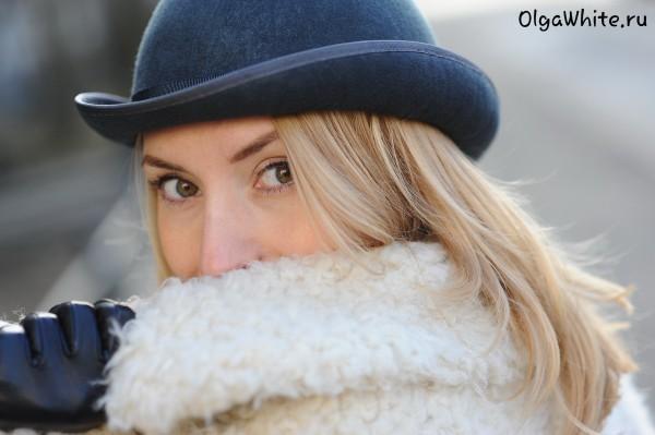 Шляпа котелок серый фетровый купить