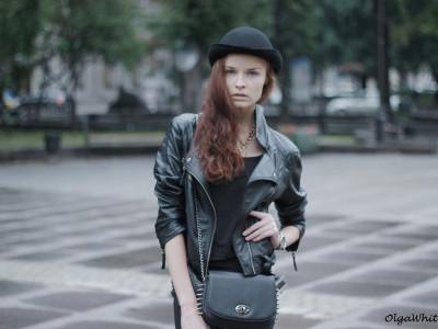 Шляпа котелок купить. С чем носить в стиле casual: с кожаными джинсами, косухой и грубыми ботинками