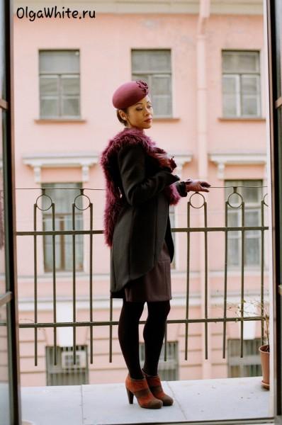Шляпка Жаклин Кеннеди Купить бордовую шляпу фетровую в стиле Жаклин Кеннеди