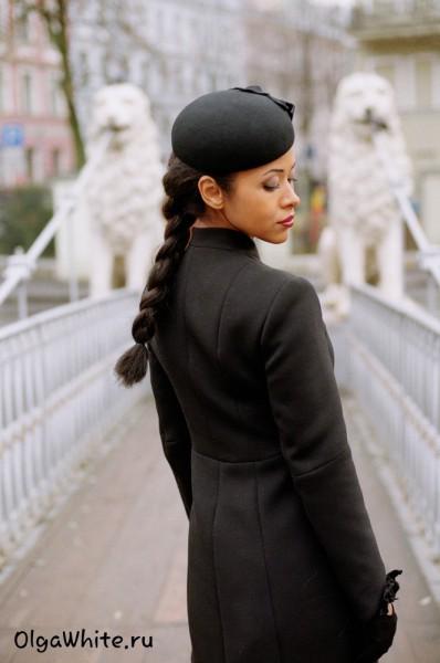 Шляпка Жаклин Кеннеди Купить черную фетровую шляпку в стиле Жаклин Кеннеди