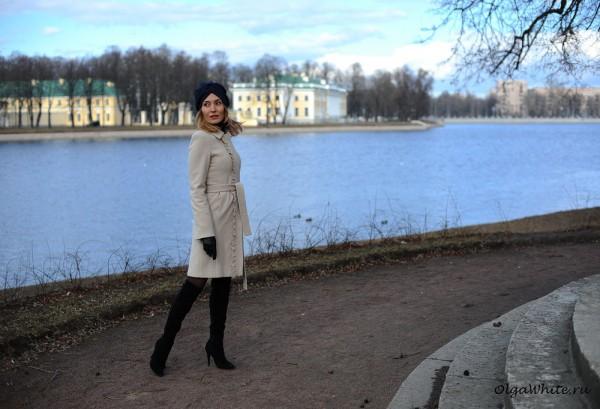 Синий тюрбан-чалма купить с чем носить тюрбан пальто